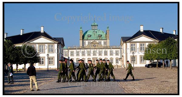Fredensborg Slot, Garder, Soldater. Foto: Torben Christensen  København ©  Ayoe Bryndis