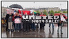Demonstration mod salget af Manchester United. Foto: Torben Christensen  København ©  Ayoe Bryndis