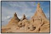 Søndag juni 26. 2005 åbnede den 10. Internationale Sandskulpturfestival, ved Femøren på Amager, officielt. Festivalens Tema er H. C. Andersens eventyr, og fyrre skulptører fra hele verden deltager. Her skulpturen af H. C. Andersen, det er en fællesskulptur, der ikke deltager i konkurrencen. (Foto: Torben Christensen / Scanpix 2005) . Foto: Torben Christensen  København ©  Ayoe Bryndis