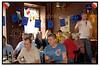 På Toga Vinstue i København holdt Europæisk Ungdom og Europabevægelsen, i forbindelse med den franske folkeafstemning om EU ´s forfatningstraktat, fransk valgaften med flutes, pate, balloner, flag og højt humør.(Foto: Torben Christensen / Scanpix)%AC. (Foto: Torben Christensen / Scanpix 2005) .  Foto: Torben Christensen  København ©