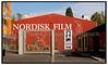 Bydele København, Valby. Indgangen til filmselskabet Nordisk Film i Valby