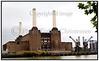 Sommerferie, England 2006 Battersea Power Station der har været brugt som coverbillede til Pink Floyds album Animals er stadig et populært London ikon selvom det er ved at forfalde. Der er nu planer om at restaurere det og bygge lejligheder og butikker. Foto: Torben Christensen  København ©  Photo Torben Christensen