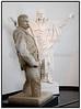 J.F. Willumsen. J.F. Willumsens Museum i Frederiksværk. J.F. Willumsens Museum er et enkeltkunstnermuseum skabt for billedkunstneren Jens Ferdinand Willumsen. Samlingen omfatter et bredt spektrum af J.F. Willumsens malerier, tegninger, grafik, keramik, skulptur, fotografier og arkitektur. Således er det via en gennemgang i museet muligt at følge én enkelt kunstners udvikling og at få et indblik i de mangeartede kunstneriske problemstillinger, han arbejdede med . Billedet viser udkast til Hørupmonumentet. 1908. Foto: Torben Christensen  København ©