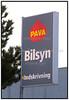 Pava bilsyn, skilt, logo. Foto: Torben Christensen  København ©