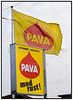 Pava rustcenter, Rustbehandliing, Skilt, logo. Foto: Torben Christensen  København ©