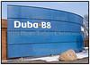 Duba B8 kontormøbler, logo, skilt. Foto: Torben Christensen  København ©