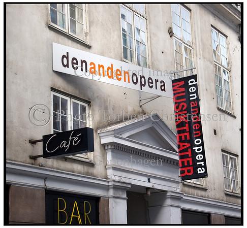 Den Anden Opera i Kronprinsensgade. Foto: Torben Christensen  København ©
