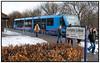 Grisen, toget fra Nærumbanen ved Lyngby Lokalstation. Foto: Torben Christensen  København ©