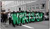 Demonstranter imod G8 - topmødet i Tyskland i Store Kongensgade på vej mod Kongens Nytorv søndag 27. maj 2007. (Foto: Torben Christensen / Scanpix 2007) . Foto: Torben Christensen  København ©