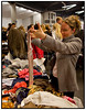 Designerforum i København søndag 21. oktober 2007, hvor eksklusive forretninger og kendte mærker er samlet på 150 stande under samme tag . De udstillede varer består af restpartier og unikke kollektionsprøver der kan købes med 40 - 80 procents besparelse. (Foto: Torben Christensen/Scanpix 2007)<br /> <br /> . Foto: Torben Christensen  København ©