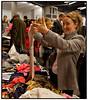 Designerforum i København søndag 21. oktober 2007, hvor eksklusive forretninger og kendte mærker er samlet på 150 stande under samme tag . De udstillede varer består af restpartier og unikke kollektionsprøver der kan købes med 40 - 80 procents besparelse. (Foto: Torben Christensen/Scanpix 2007)zzzzzzz++++-------