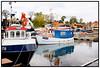 Fiskekuttere i Sletten Havn, Humlebæk. Foto: Torben Christensen  København ©
