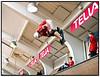 Den danske skater Thomas Kring, med skæg der deltager i diciplinen Vert, varmer op inden landskampen i skateboarding mellem Danmark og Tyskland der afholdes i Copenhagen Skatepark, Enghavevej lørdag 20 oktober 2007. (Foto: Torben Christensen/Scanpix 2007). Foto: Torben Christensen  København ©