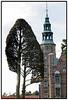 """Tage Andersen er flyttet ind ved Rosenborg Slot med et væld af imponerende og overraskende organiske skulpturer. Med udstillingen """"Barokt II"""" er Rosenborg Slot blevet omringet af en anderledes have, fabulerende fuld af mystik. Udstillingen dækker Rosenborgs bastion, voldgraven og enkelte skulpturer i haven. De største skulpturer er 11 meter høje og vejer mere end tre tons.. Foto: Torben Christensen  København ©"""