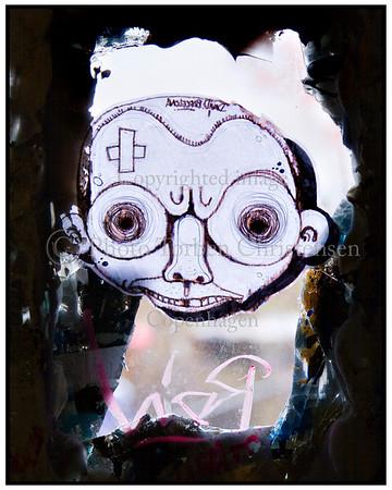 Graffiti i Berlin på bygninger og i opgange Berlin Foto: Torben Christensen  København © <br /> <br /> . Foto: Torben Christensen  København ©