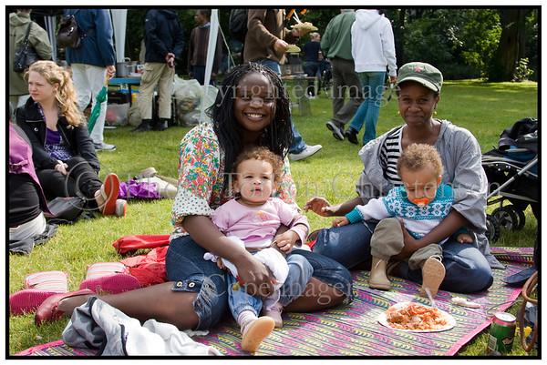 Colour Cafe Afrikansk festival i Fælledparken.  Foto: Torben Christensen  København ©