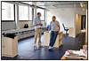 Indflytning på Scanpix nye lokaler i Pilestræde Her Pierre i de gamle lokaler. Foto Torben Christensen