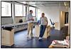 Indflytning på Scanpix nye lokaler i Pilestræde Kris og Jan Hovman . Foto: Torben Christensen  København ©