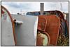 Fiskekuttere og fiskenet i Gilleleje  juni 2009Foto: Torben Christensen  København ©