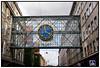 Egmonts gangbro og ur nymalet og nyistandsat Foto: Torben Christensen  København ©
