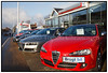Brugte biler sælges. Her autoforhandler Bilhuset i Birkerød Foto: Torben Christensen  København ©