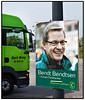 EU Valgplakater med Bendt Bendtsen, KonservativeFoto: Torben Christensen  København ©