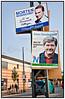 EU Valgplakater med Morten Messerschmidt, Dansk Folkeparti og Søren Søndergaard,Folkebevægelsen mod EUFoto: Torben Christensen  København ©