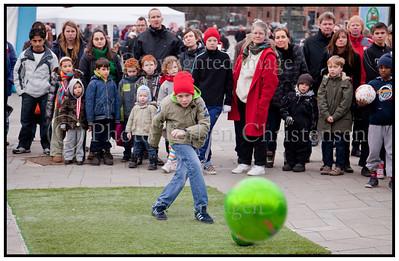 Fodbolddag på Rådhuspladsen 2009