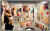 170 udstillere viste deres kunst på Copenhagen Art Fair i Falconer Centret på Frederiksberg i weekenden 20 - 22. februar 2009, hvor ca. 8000 besøgende lagde vejen forbi. Udstillingen viser et bredt udsnit af den danske kunstscene med mange unge udstillere. .  Foto: Torben Christensen  København ©
