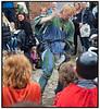 Gøglere og  ildslugere på Riddermarkedet på Esrum Kloster og Møllegård søndag 20 Jjuni 2010. Over 400 udklædte, fortælleglade og levende middelalder-entusiaster på Klosterengen, satter præg på weekenden.  I flæng kan nævnes riddere, tempelherrer, falkonerer, kræmmere, gøglere, landsknægte, munke, lædersmeden, smykkemageren, spåkonen, instrumentmageren, rebslageren og smeden, historiefortællere, slagsbrødre, trubadurer, bueskytter, kanonerer, kællinger, krigere… . Photo: Torben Christensen © Copenhagen, Foto: Torben Christensen  København ©