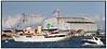Kongeskibet  Dannebrog i Købnhavns Havn anledning af flådens 500 års jubilæum   Foto: Torben Christensen  København ©
