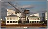 Den sydlige kran ved Harbour House på Kalkbrænderiløbskaj i Københavns Nordhavn Foto: Torben Christensen  Købenihavn ©