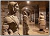 """""""Guder og Godtfolk"""" i Cisternerne i Søndermarken. Slots- og Ejendomsstyrelsen viser 75 originale sandstensskulpturer fra midten af 1700-tallet. De repræsenterer et udsnit af 1700-tallets alsidige danske billedhuggerkunst. Skulpturerne stammer fra henholdsvis Nordmandsdalen i Fredensborg Slotshave. Marmorbroens Pavilloner ved Christiansborg Slots Ridebaneanlæg, Holsteins Palæ, Thotts Palæ (Den Franske Ambassade) og Sankt Petri Kirke.   Cisternerne, Museet for Moderne Glaskunst i Søndermarken på Fredeiksberg.  I det ansete amerikanske erhvervsmagasin FORBES bliver Cisternerne på Ekstrabladets netavis onsdag den 25. februar 2009, omtalt som hørende til et af de meste unikke museer i Europa. Det er de gamle vandcisterner museets besøgende går rundt i. Der er ca. 4400m2 plads i de tre cisternerum, der tidligere rummede 16.000.000 liter vand. De tre vandcisterner blev tømt og tørret ud efter at have tjent den københavnske vandforsyning i over 100 år..  Foto: Torben Christensen   Købenihavn ©"""