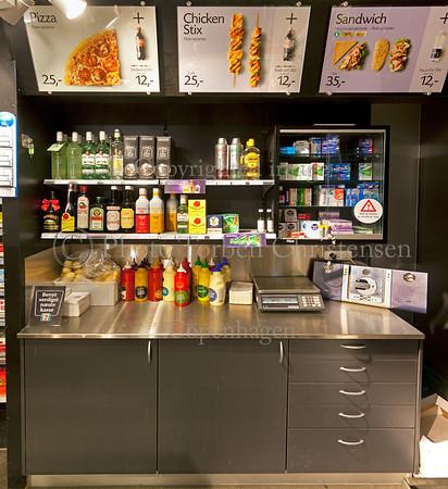 Kiosk ved Svanemølle til Plakat
