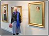 Dronning Margrethe til åbningen af Preben Hornung udstillingen på Nivaagaard 12. februar 2011 Foto: Torben Christensen   København ©