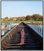 Vikingeskibsmuseet i Roskilde med vikingeskibet Havhingsten fra Glendalough i forgrunden. Foto: Torben Christensen  København ©
