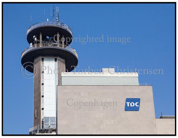 TDC Telefonhuset med telefontårn  på Åboulevarden Foto: Torben Christensen © Copenhagen 2012