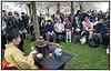 Copenhagen Sakura Festival bød i weekenden københavnerne på kampsport, sushi, farverige kimonoer og tilberedning af grøn te der blev serveret for publikum under de nyudsprungne kirsebærtræer i Langelinie Park. Det er femte år foråret fejres på Langelinie