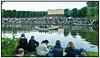 Bryndis og Ayoe Sankt Hans aften fejredes med Sankt Hans bål i Frederiksberg Have nedenfor Frederiksberg Slot  lørdag 23, juni 2012 med underholdning af Alberte og båltale af Bertel Haarder . Foto: Torben Christensen © Copenhagen,
