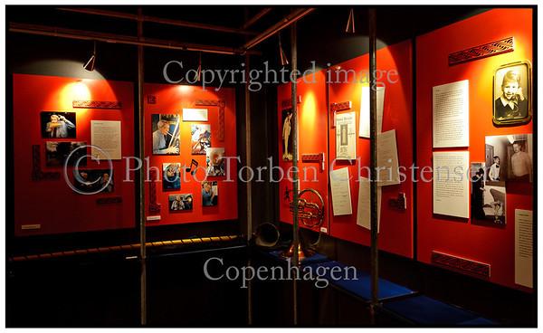 Revymuseet i Allegade på Frederiksberg Jesper Klein udstilling