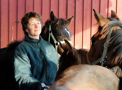 Eva CS Pettersson   Tranberga Gård 111021  Foto: Stefan Olsson / Svensk Galopp