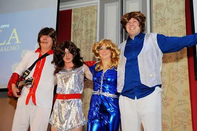 ABBA Reunion featuring Dennis Madsen, Jessica Long, Fredrik Janetzky och Peter Jardby  | Årets Hästfest i Malmö 160130 | Foto: Stefan Olsson / Svensk Galopp
