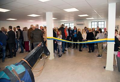 Invigning träningslokal på Bro Park 170514 Foto: Elina Björklund / Svensk Galopp