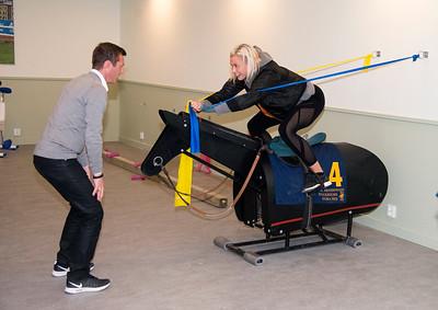 Invigning träningslokal Bro Park