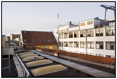Berlingske ombygning 2007 Taget
