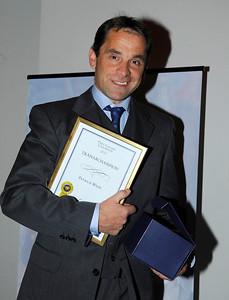 Championtränare Patrick Wahl | SGS Championfest Täby Park Hotel 120114 | Foto: Stefan Olsson / Svensk Galopp