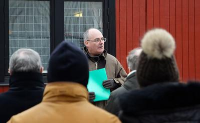 SFKs Håkan Birger ledde stallrundan | Stallrunda Jägersro 160319 | Foto: Stefan Olsson / Svensk Galopp