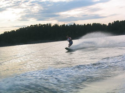 Wakeboard med Richard