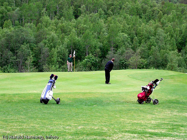Golfklubben i Skjomen (Elvegaard).