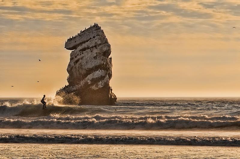 Morro Surfing